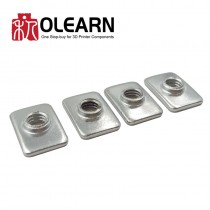 T Nut Carbon Steel Galvanized For Openbuild OX CNC DIY Wooding Machanice
