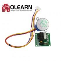 Machinery Board 5V 4-Phase Stepper Step Motor + Driver Board ULN2003 Drive Test Module